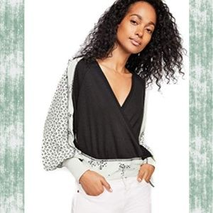 🆕️ Free People Auxton Thermal Suplice wrap top